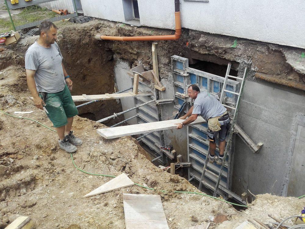 Unterfangung - Krämer Bau - Bauen im Bestand