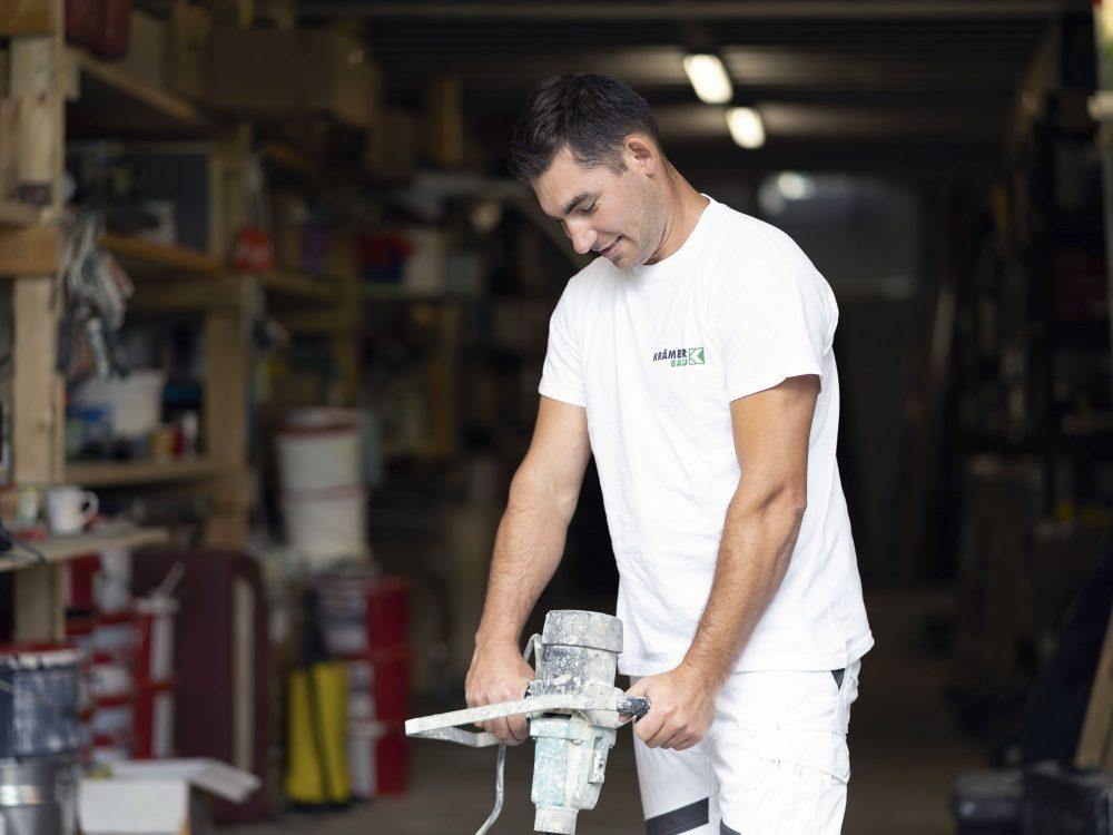 Beschichtungen - Krämer Bau - Bauen im Bestand